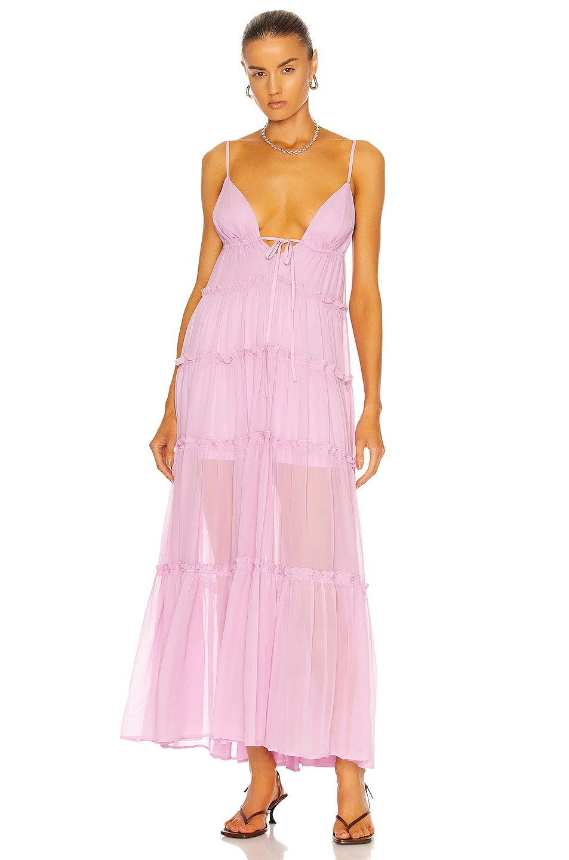 Image 1 of A.L.C. Gemma Dress in Lavender