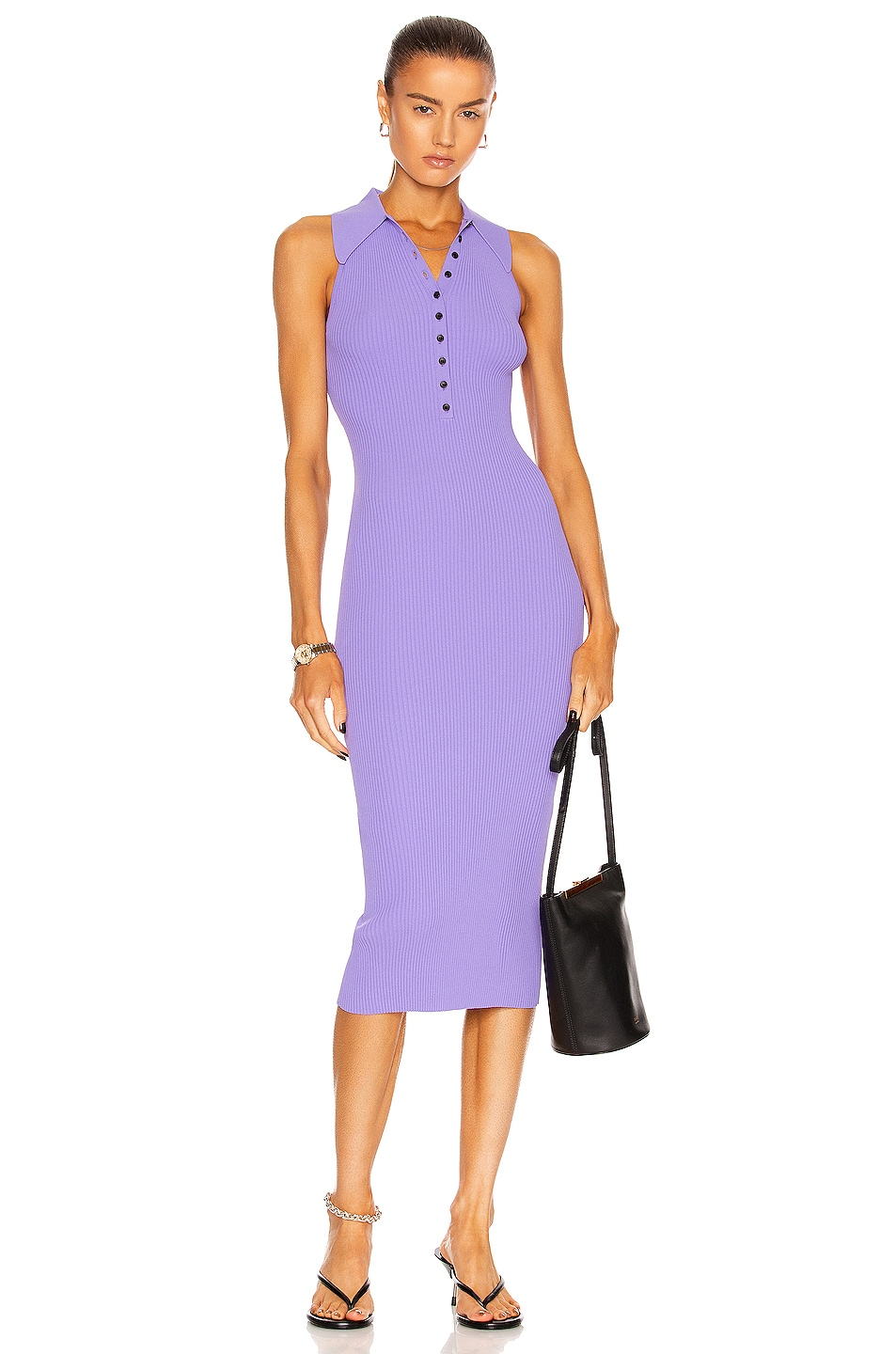 Image 1 of A.L.C. Asher Dress in Amethyst