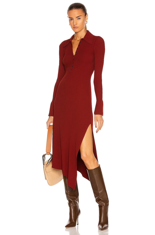 Image 1 of A.L.C. Lance Dress in Sumac