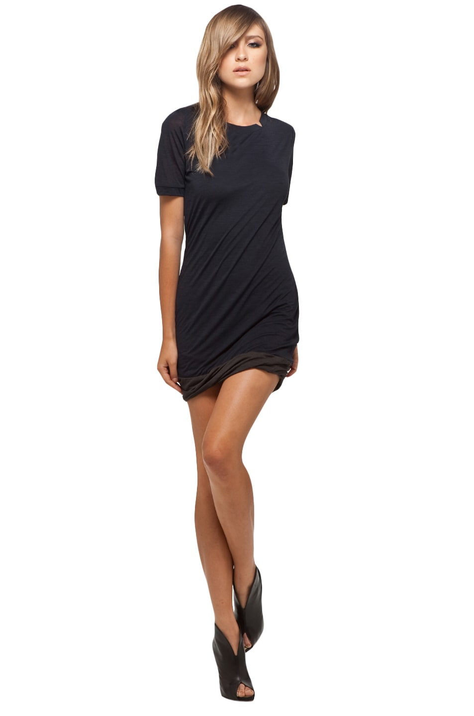 Image 1 of A.L.C. Vivica Tunic in Navy