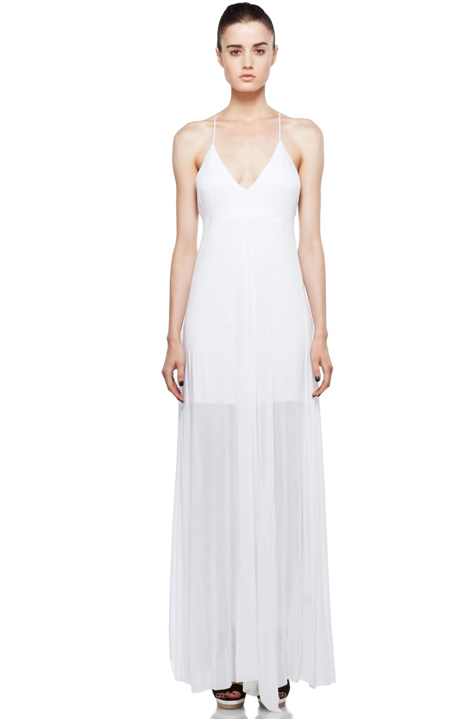 Image 1 of A.L.C. Isadora Dress in White