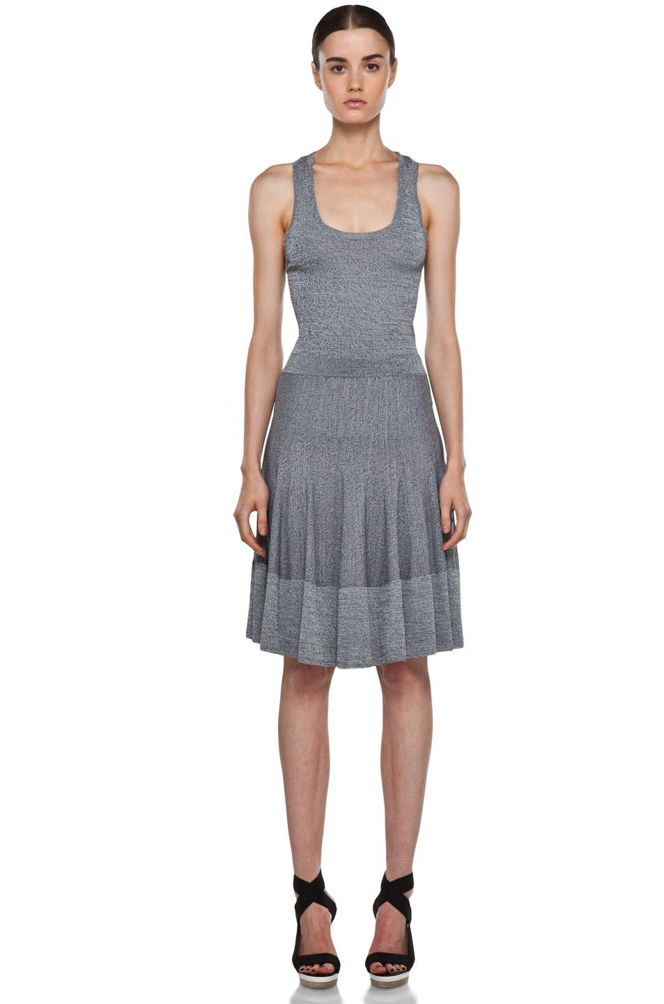 Image 1 of A.L.C. Ariana Dress in Heather Black