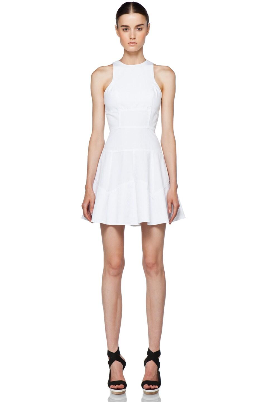 Image 1 of A.L.C. Nicolette Dress in White
