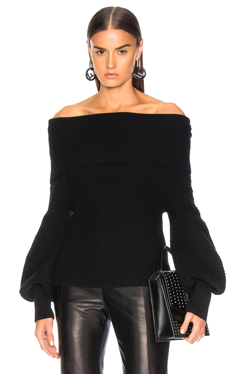 Image 1 of A.L.C. Elin Sweater in Black