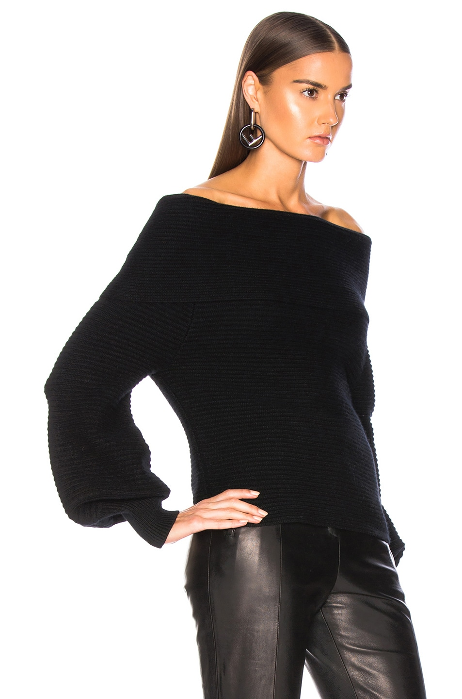 Image 2 of A.L.C. Elin Sweater in Black
