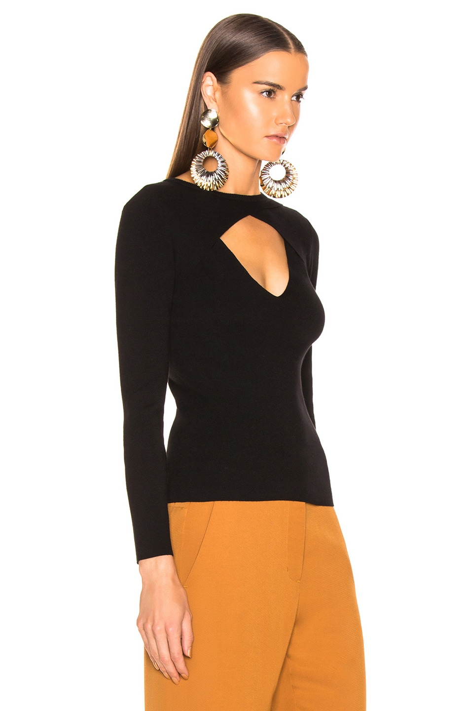 Image 2 of A.L.C. Curtis Sweater in Black