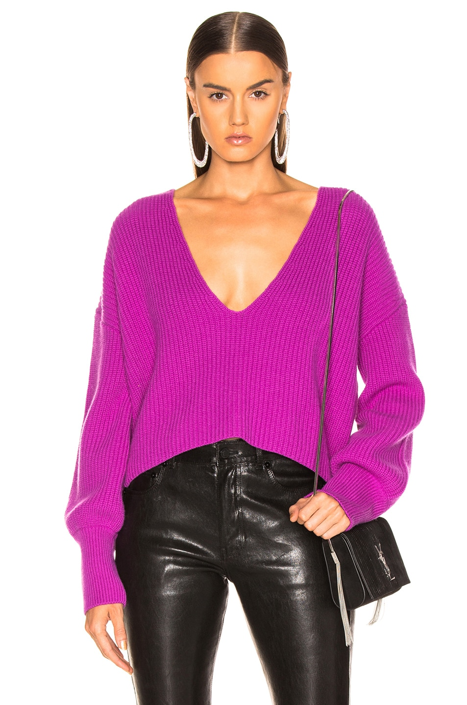Image 1 of A.L.C. Melanie Sweater in Orchid