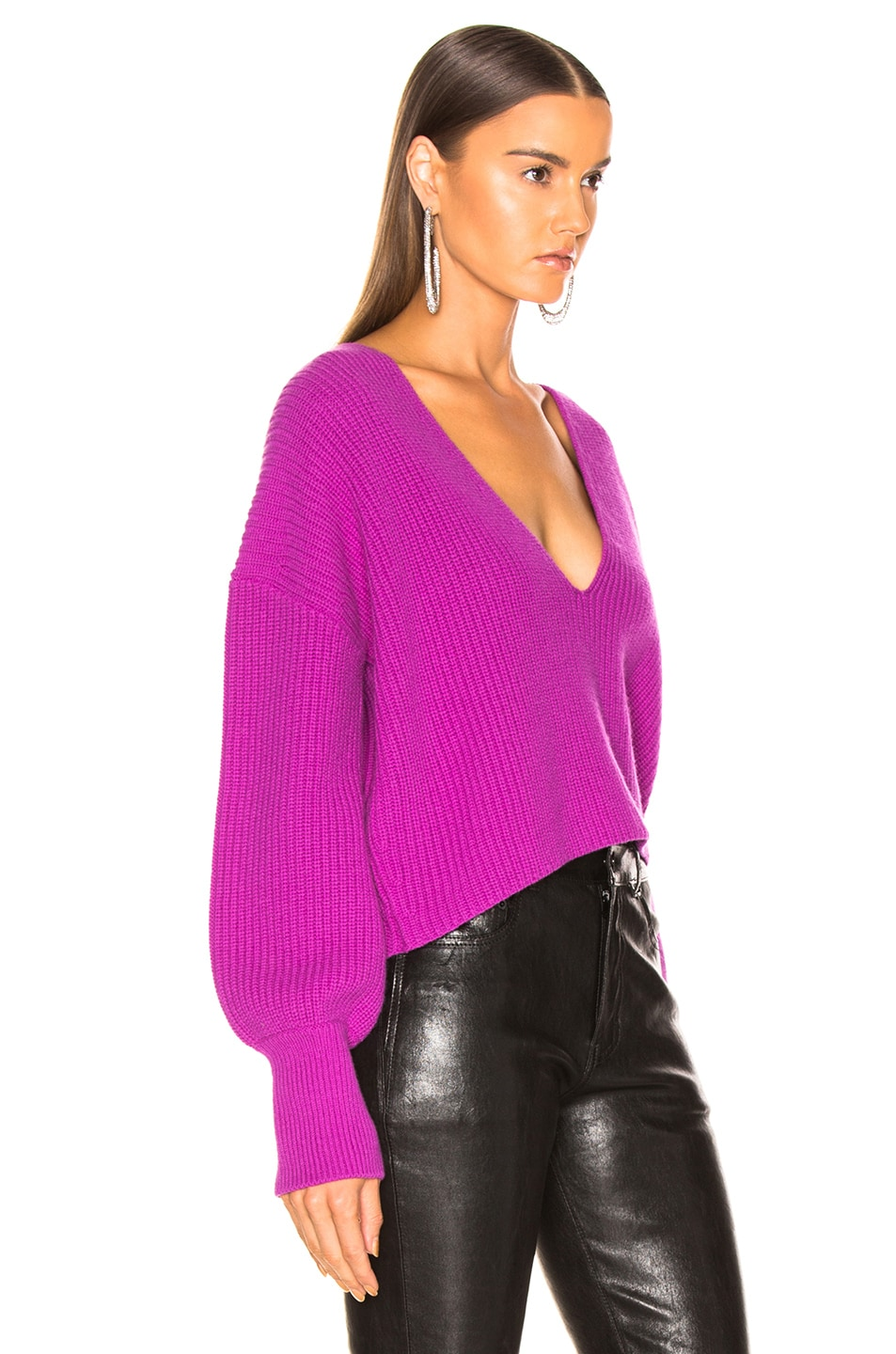 Image 2 of A.L.C. Melanie Sweater in Orchid