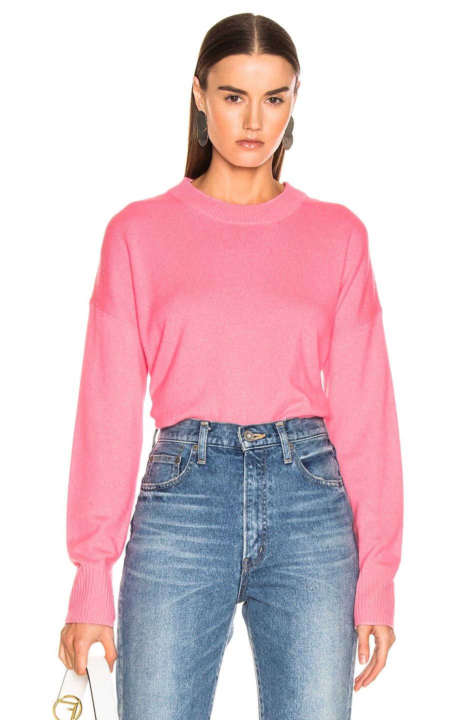 Image 1 of A.L.C. Dilone Sweater in Neon Coral
