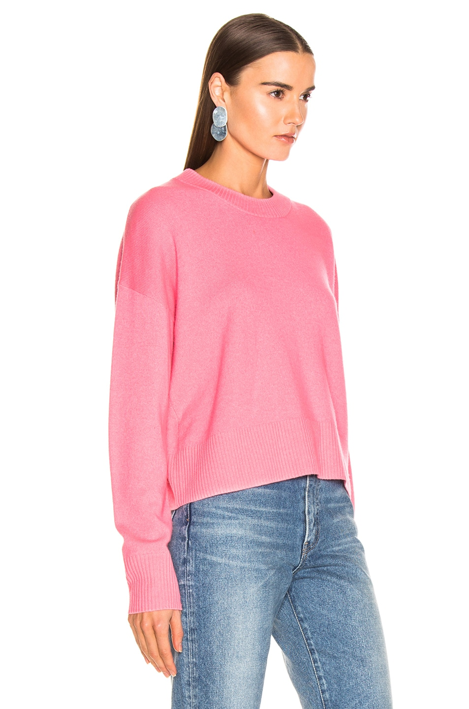 Image 2 of A.L.C. Dilone Sweater in Neon Coral