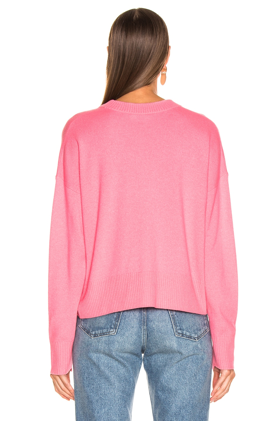 Image 3 of A.L.C. Dilone Sweater in Neon Coral
