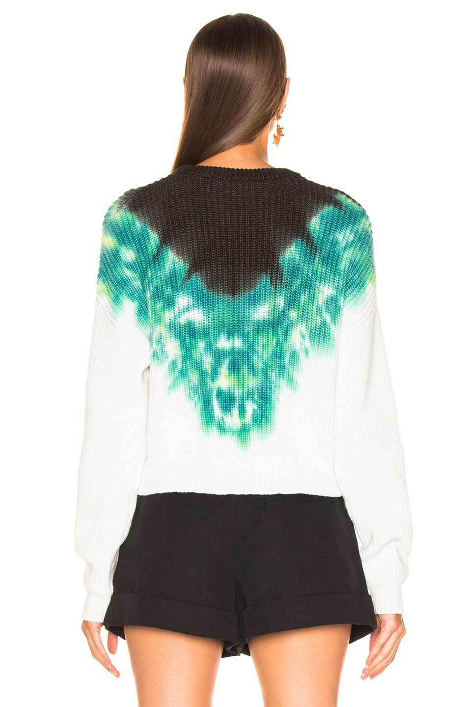 Image 3 of A.L.C. Elinor Pullover Tie Dye in Green & Black