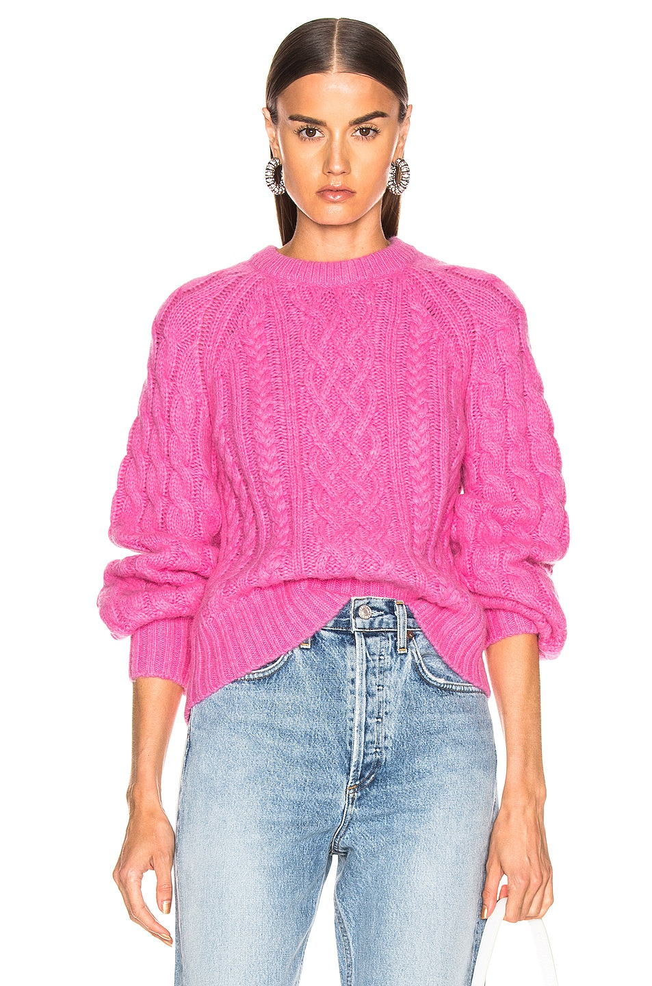 Image 1 of A.L.C. Mick Sweater in Bubblegum