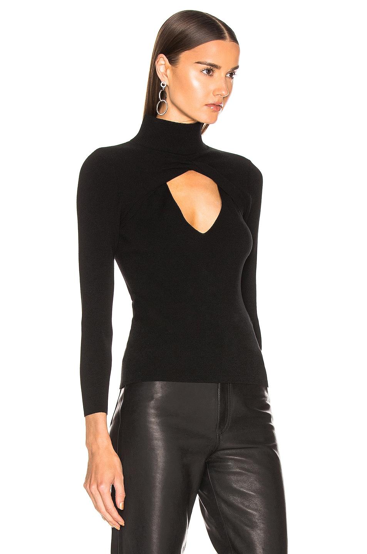 Image 2 of A.L.C. Twist Sweater in Black
