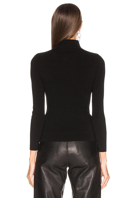 Image 3 of A.L.C. Twist Sweater in Black