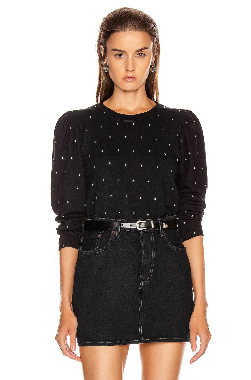 Image 1 of A.L.C. Saunders Sweatshirt in Black