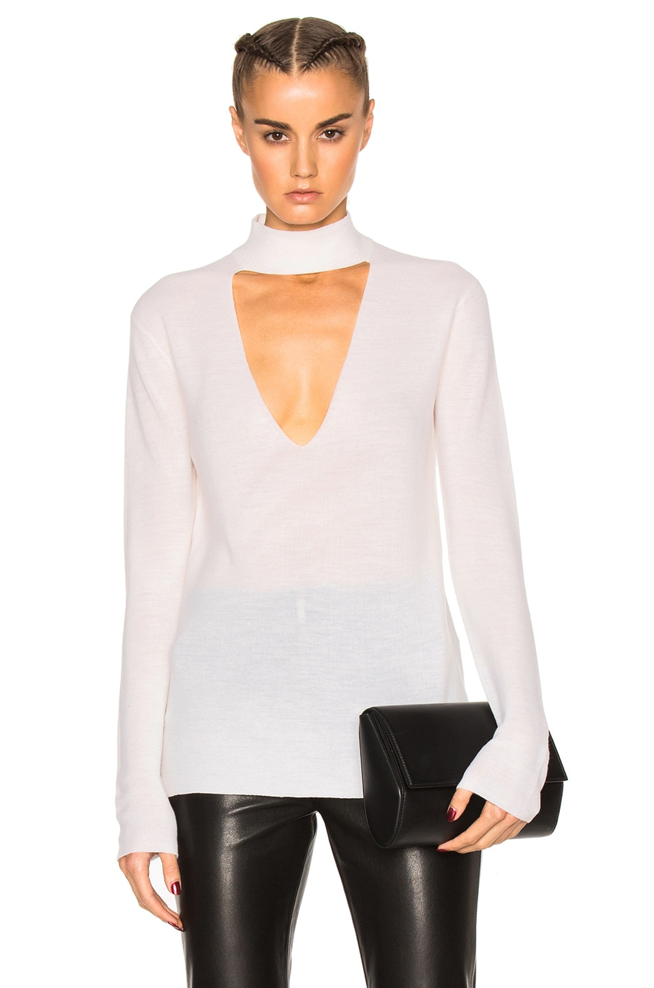 Image 1 of A.L.C. Caro Sweater in White