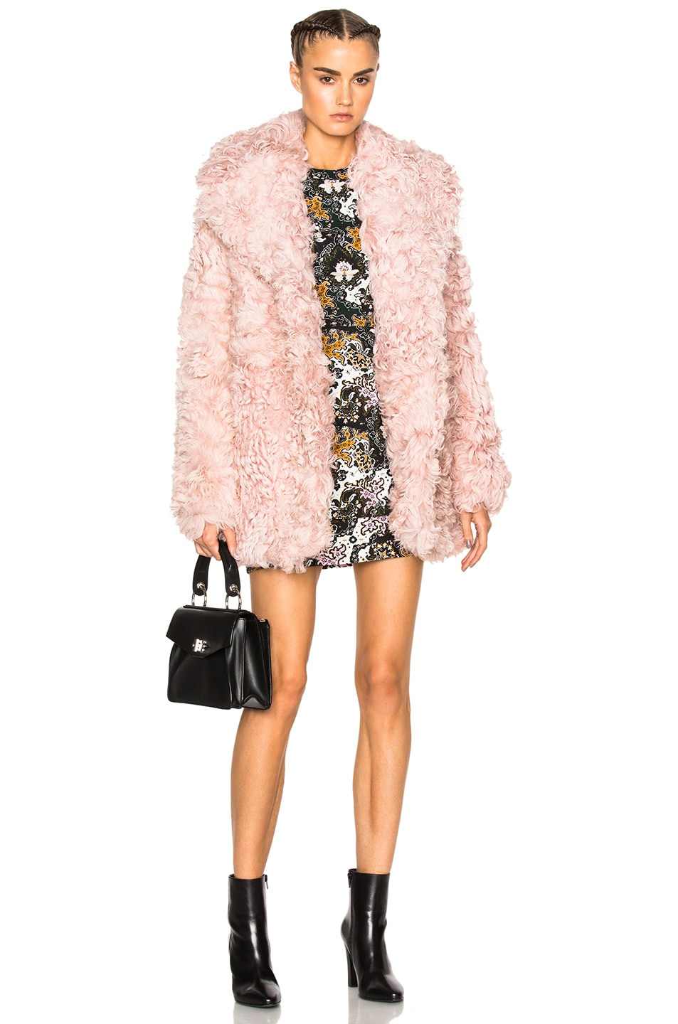Image 1 of A.L.C. Stone Coat in Dusty Pink