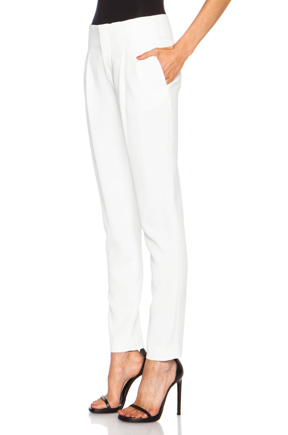 Image 2 of A.L.C. Kinnsley Viscose-Blend Pant in White
