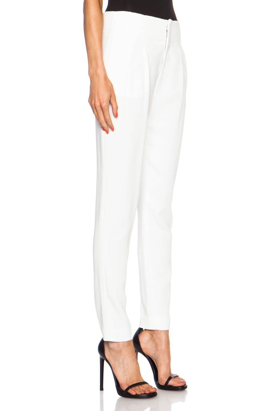 Image 3 of A.L.C. Kinnsley Viscose-Blend Pant in White
