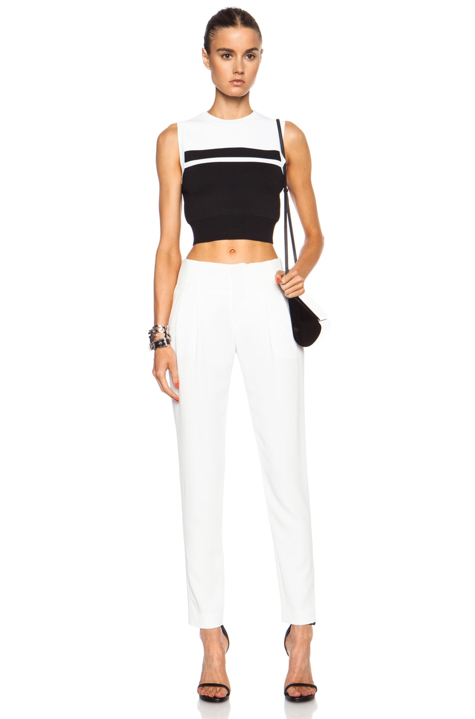 Image 5 of A.L.C. Kinnsley Viscose-Blend Pant in White