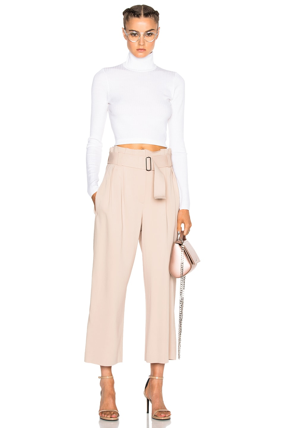 Image 5 of A.L.C. Dillon Gaucho Pants in Whisper