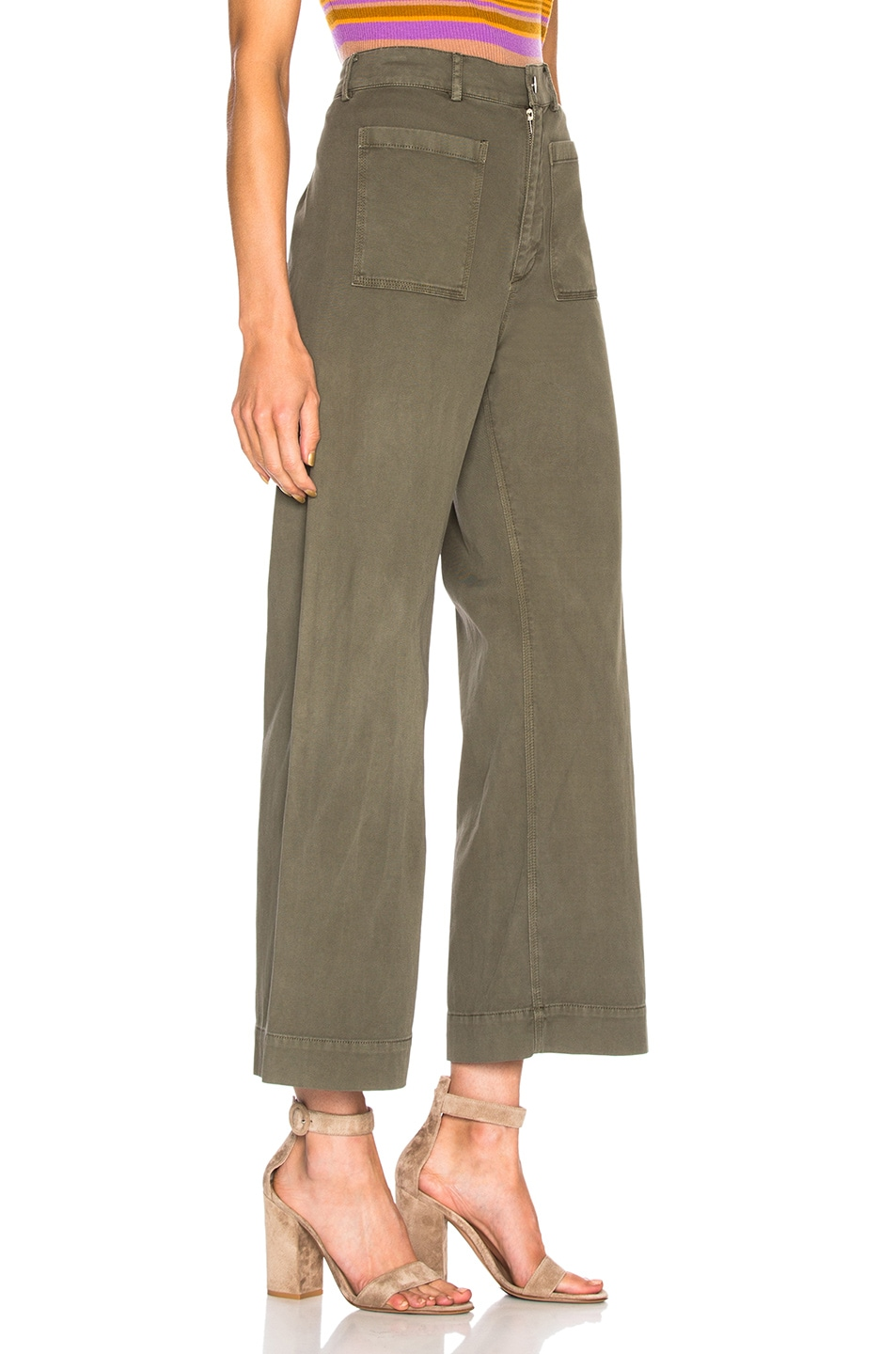 Image 2 of A.L.C. Finley Pant in Army