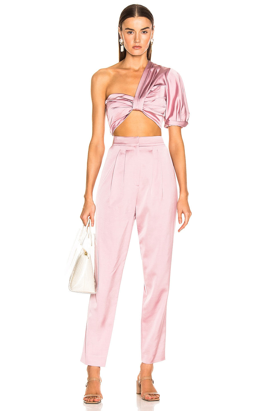 Image 5 of A.L.C. Lennox Pant in Dusty Rose