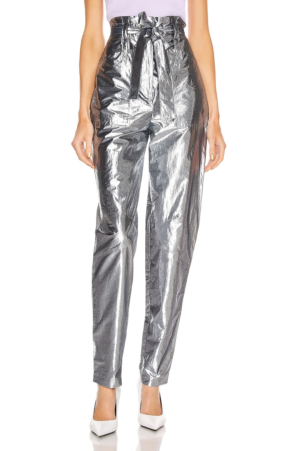Image 1 of A.L.C. Coburn Pant in Silver Indigo