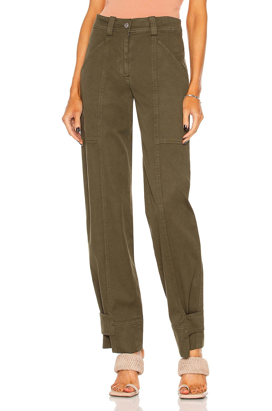 Image 1 of A.L.C. Briar Pant in Four Leaf Clover