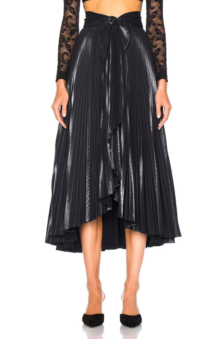 Image 1 of A.L.C. Eleanor Skirt in Midnight