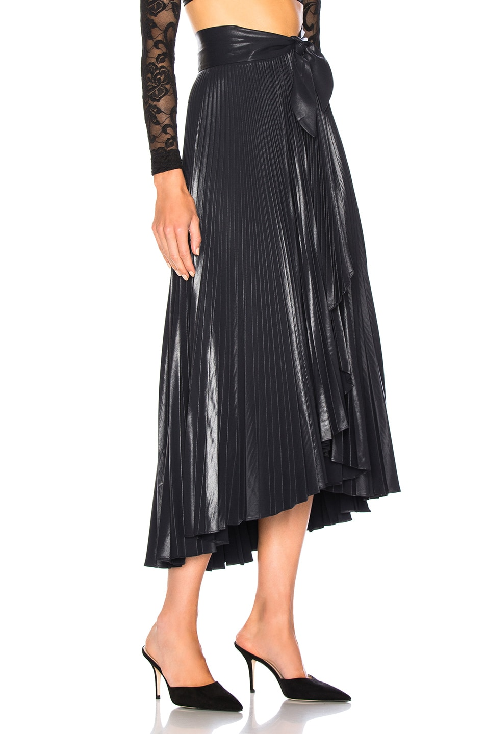 Image 2 of A.L.C. Eleanor Skirt in Midnight