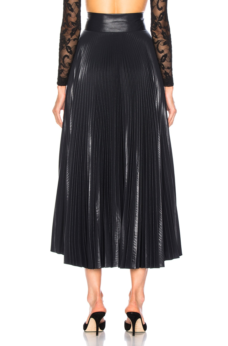 Image 3 of A.L.C. Eleanor Skirt in Midnight