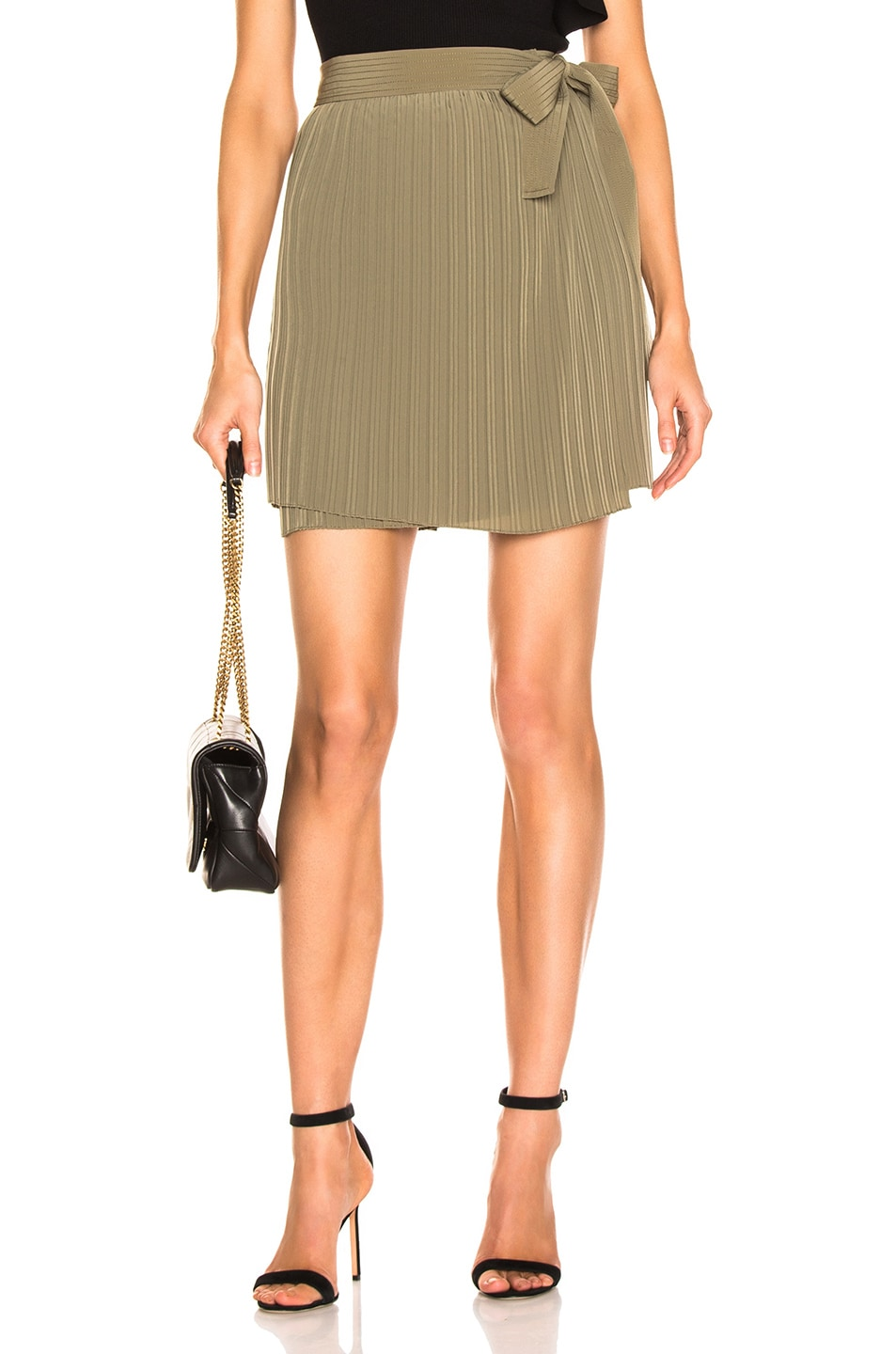 Image 1 of A.L.C. Kelsey Skirt in Army