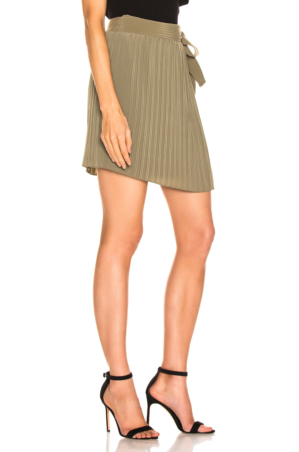 Image 2 of A.L.C. Kelsey Skirt in Army