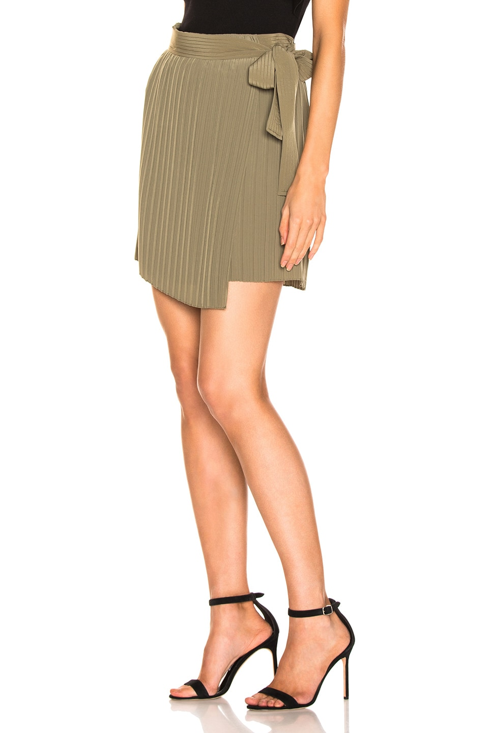 Image 3 of A.L.C. Kelsey Skirt in Army
