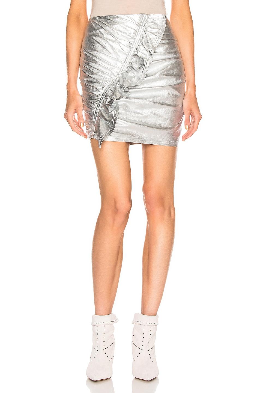 Image 1 of A.L.C. Jupiter Skirt in Silver