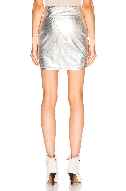 Image 3 of A.L.C. Jupiter Skirt in Silver