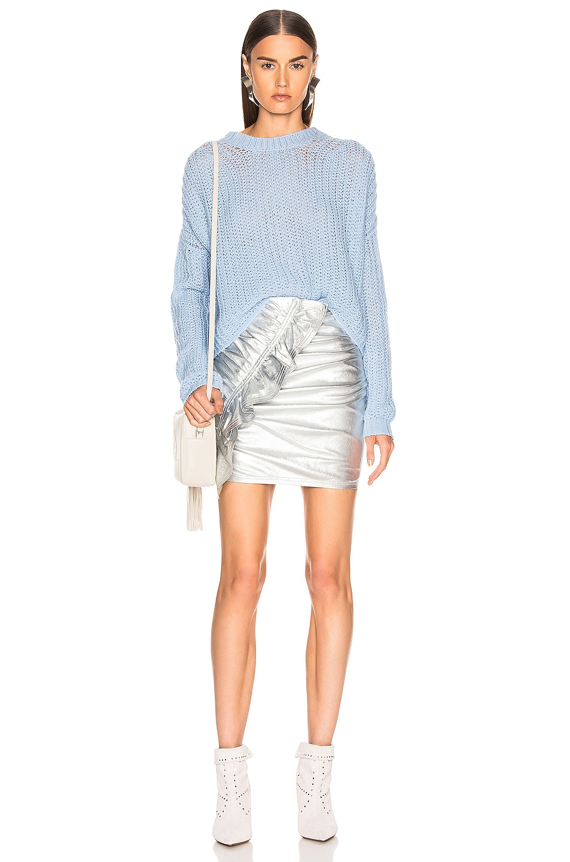 Image 4 of A.L.C. Jupiter Skirt in Silver