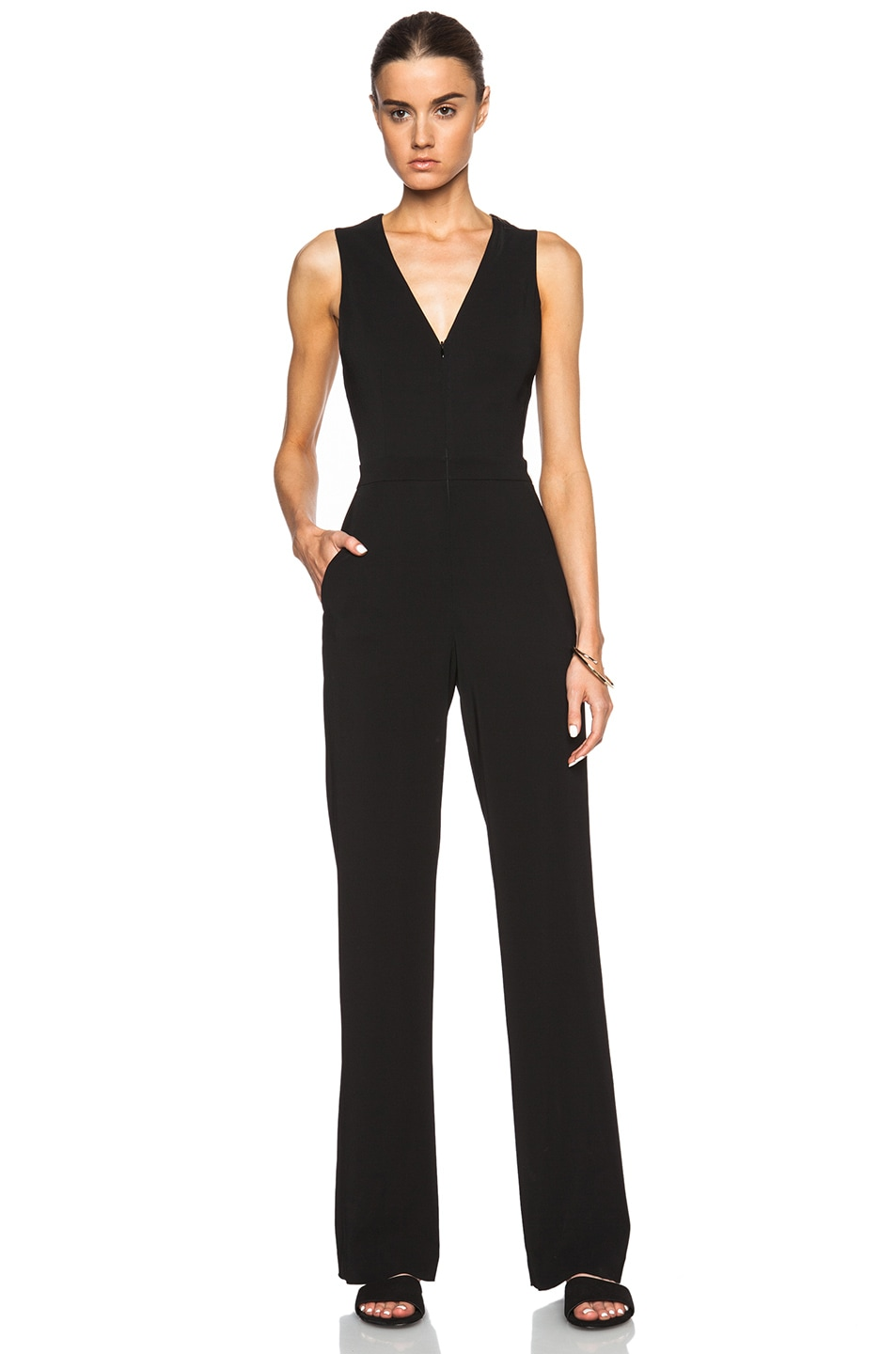 36d2d8b5e9ec Image 1 of A.L.C. Luree Jumpsuit in Black