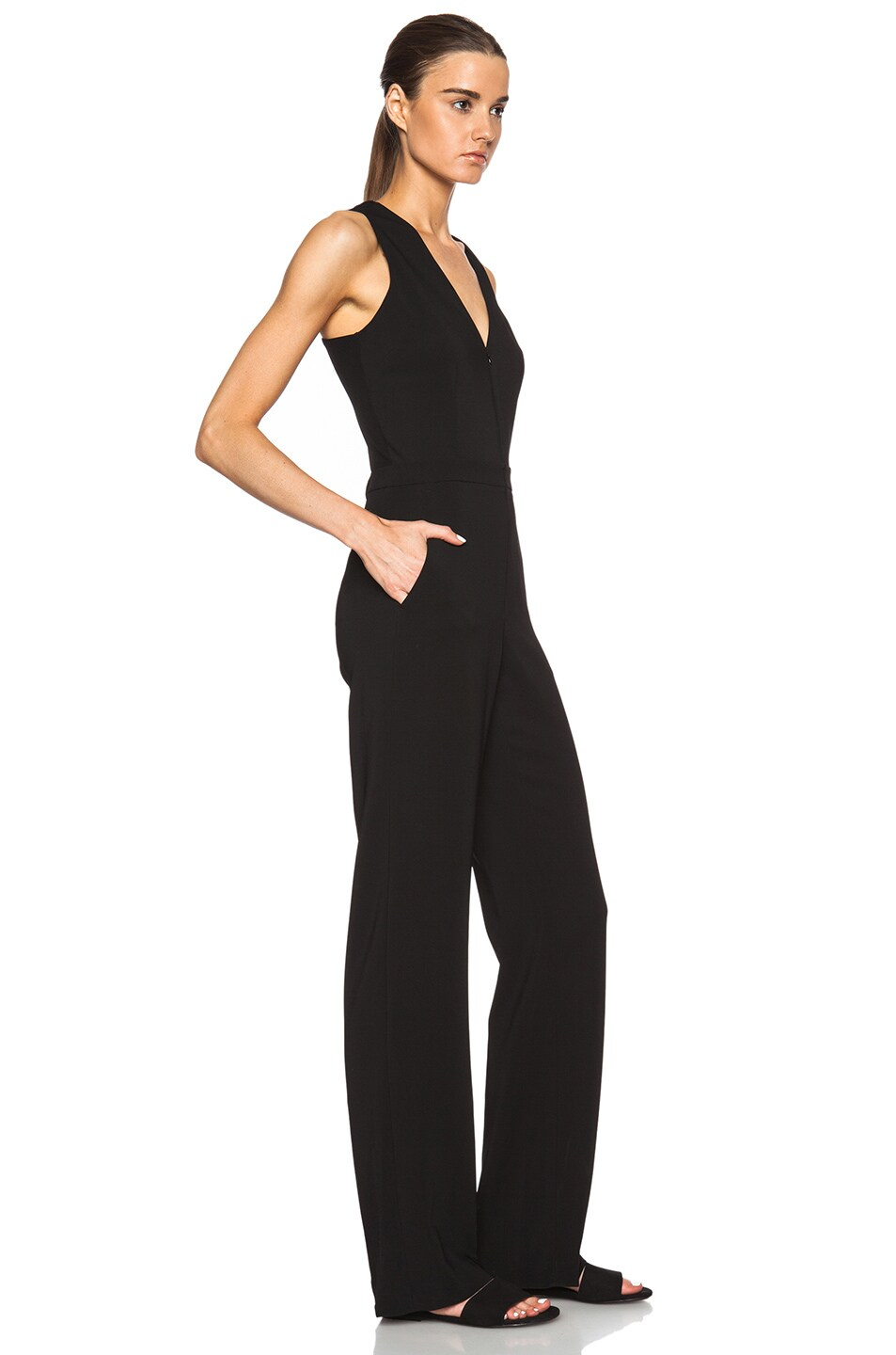 89fd21b82b4e Image 3 of A.L.C. Luree Jumpsuit in Black
