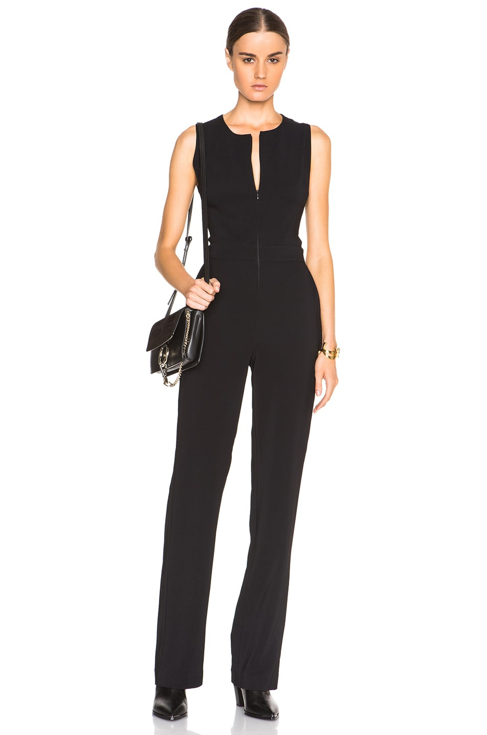 Image 1 of A.L.C. Andrea Jumpsuit in Black