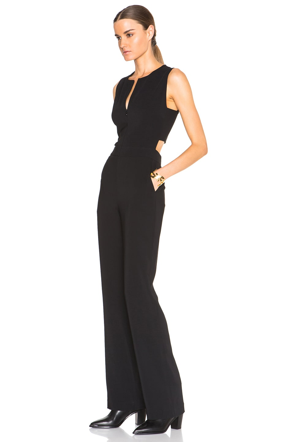 Image 2 of A.L.C. Andrea Jumpsuit in Black