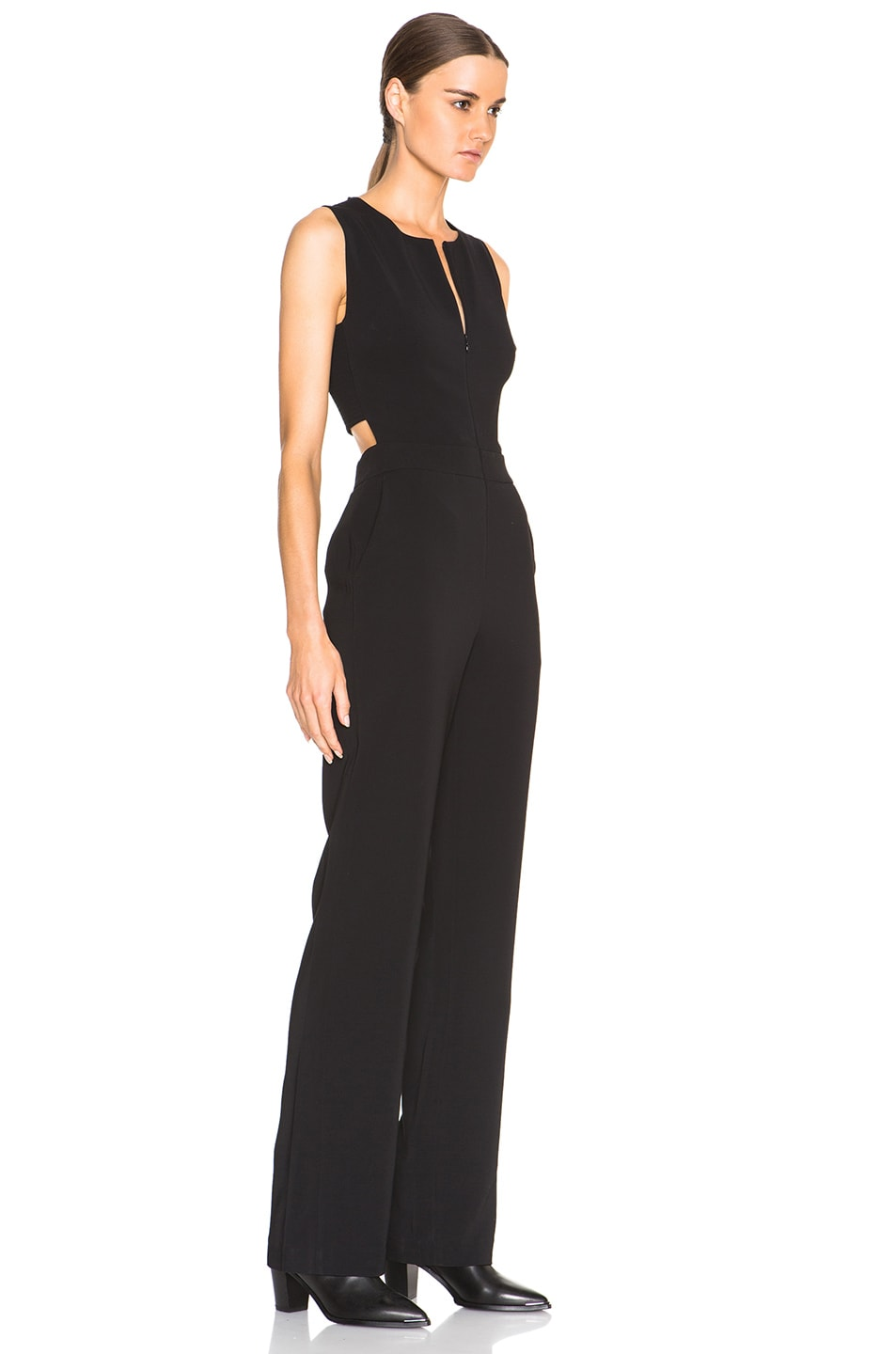 Image 3 of A.L.C. Andrea Jumpsuit in Black