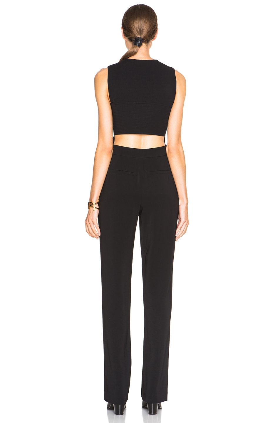 Image 4 of A.L.C. Andrea Jumpsuit in Black