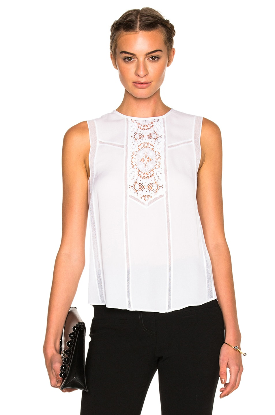 Image 1 of A.L.C. Pennie Top in White