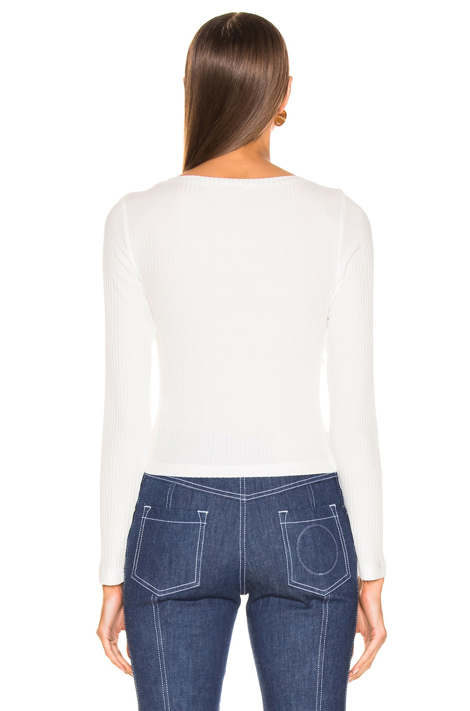 Image 3 of A.L.C. Savanna Top in White