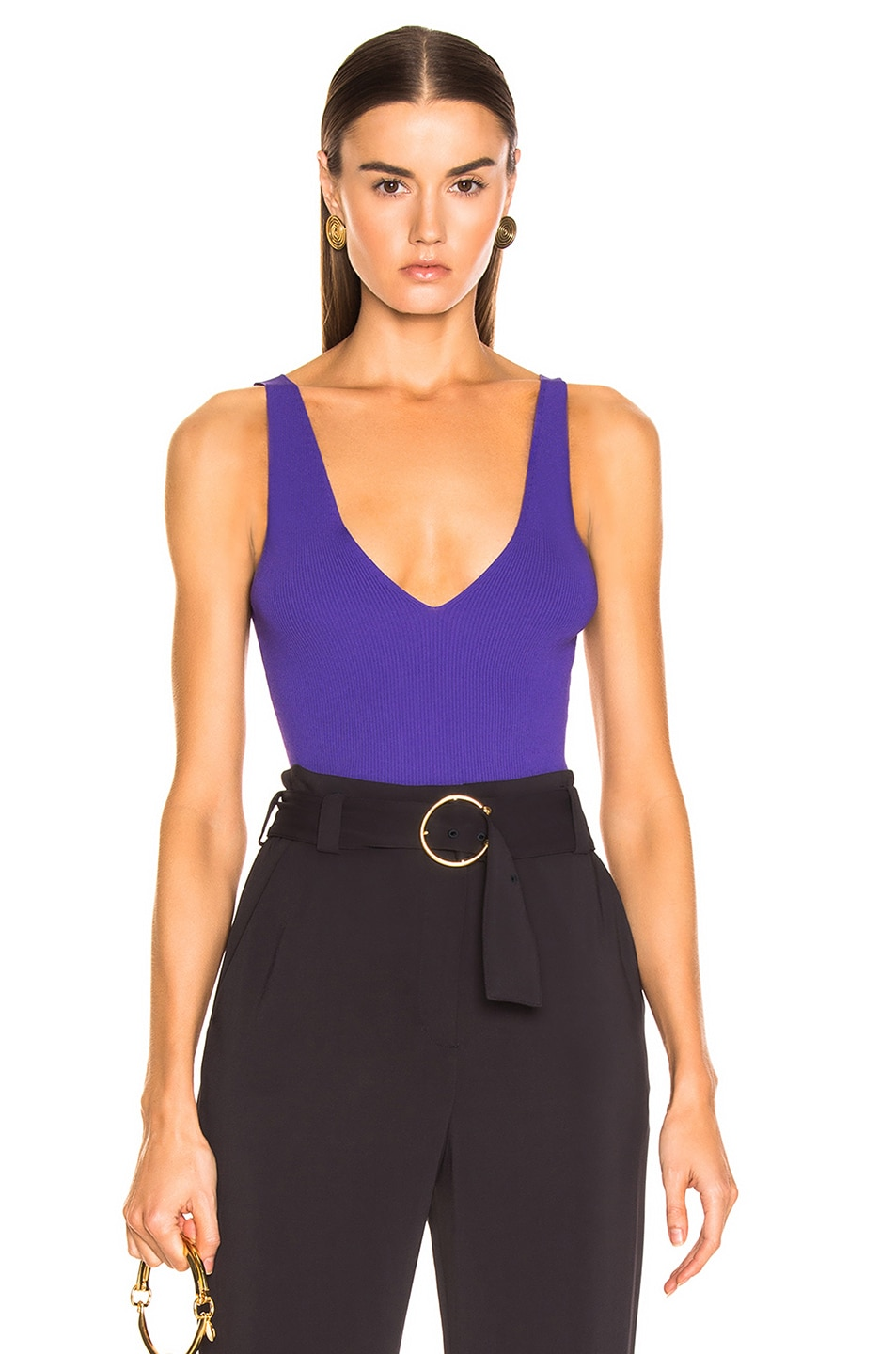 Image 1 of A.L.C. Monrow Top in Grape