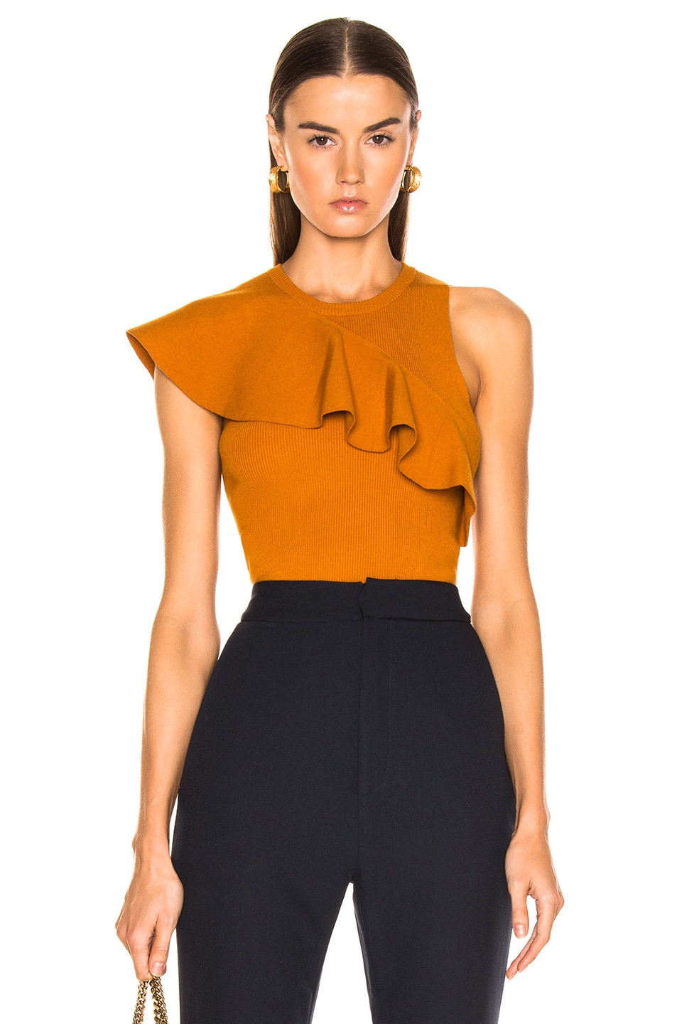 Image 1 of A.L.C. Malia Top in Light Honey
