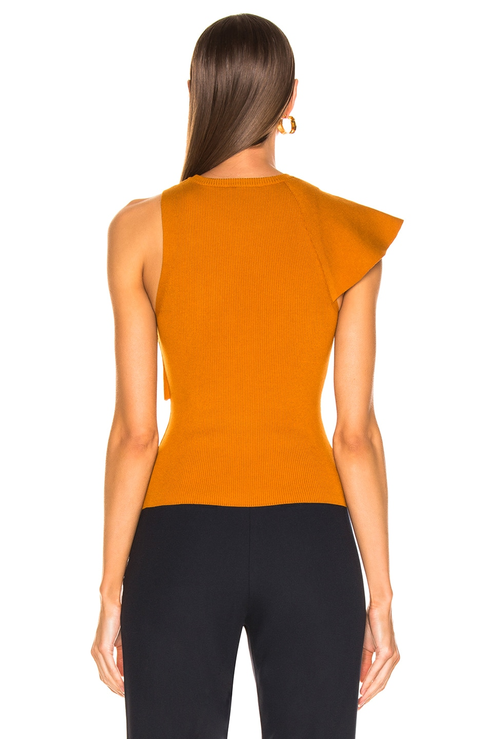 Image 4 of A.L.C. Malia Top in Light Honey